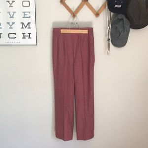 Pink Vintage Trousers